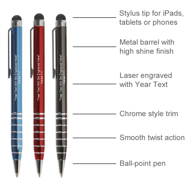 2020 Year Text Stylus Pen