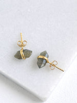 Mini Gemstone Stud Earrings