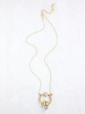 Related product : Single Prismastic Crystal Necklace