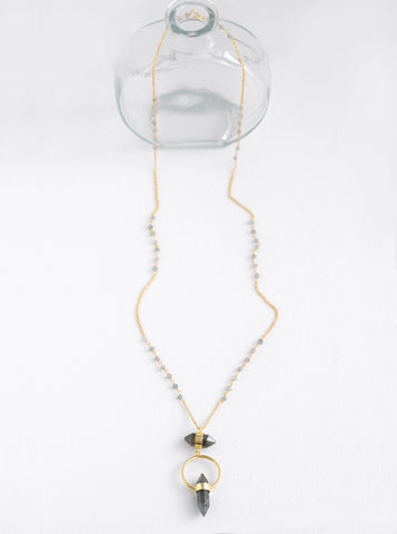 Related product : Double Prismatic Crystal Necklace