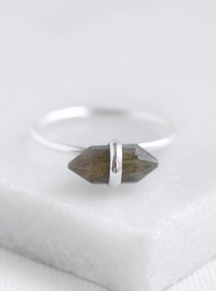 Mini Quartz Crystal Ring