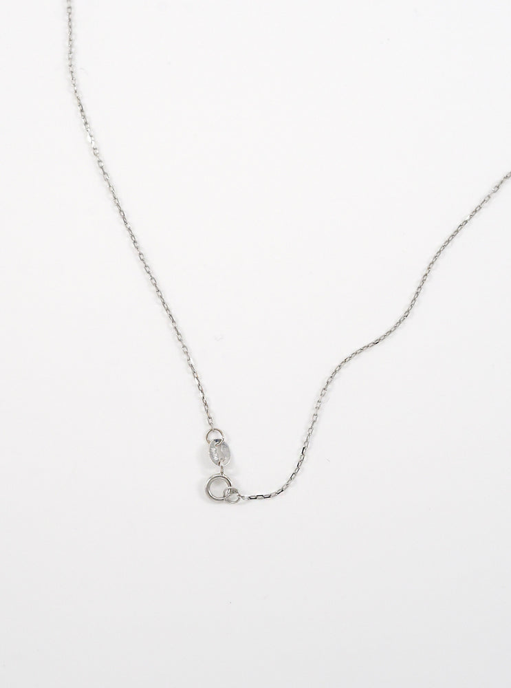 18k Gold Initial Disc Necklace