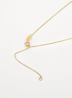 18K Solid Gold Natural Salt And Pepper Diamond Necklace