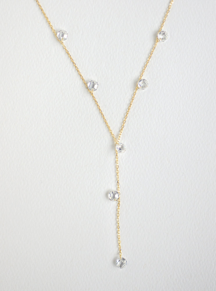 Droplet Y-Necklace