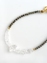 Herkimer Diamond Beaded Bracelet