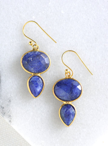Related product : Oval and Teardrop Earrings