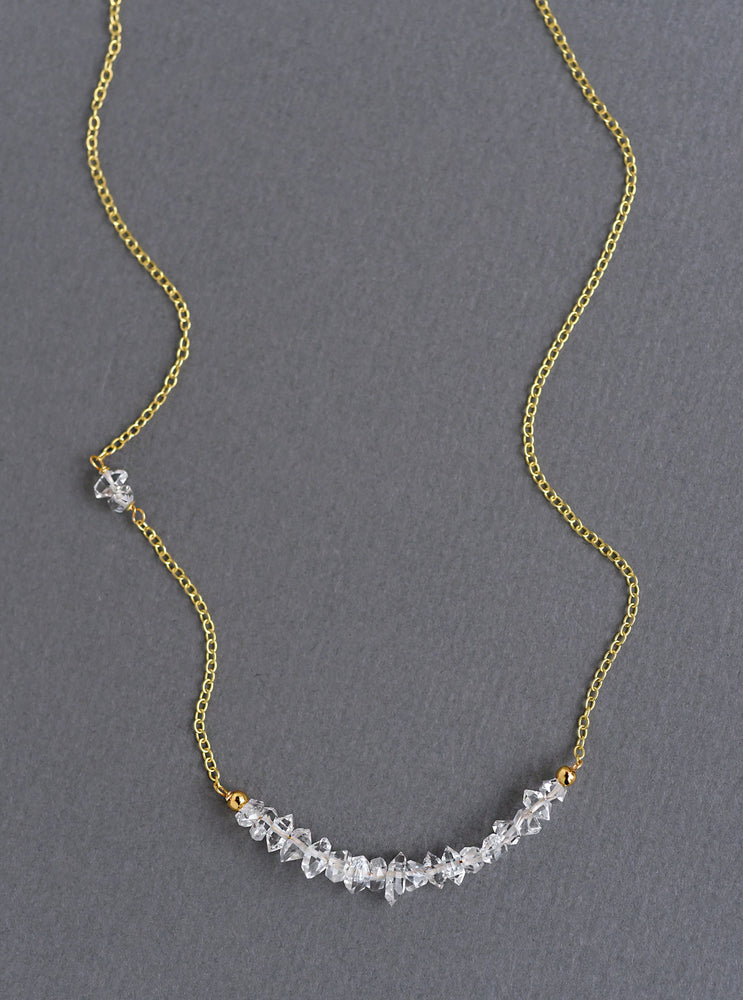 Monarchy Gemstone Bead Necklace