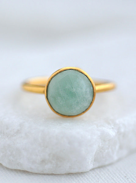Stackable Gemstone Ring