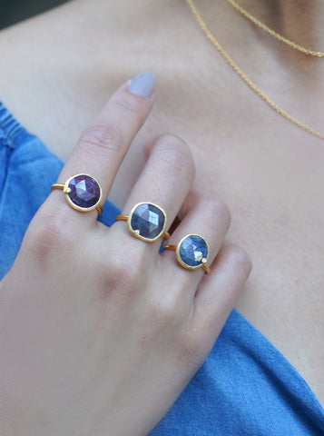 Related product : Natural Sapphire with Diamond Oval Ring*