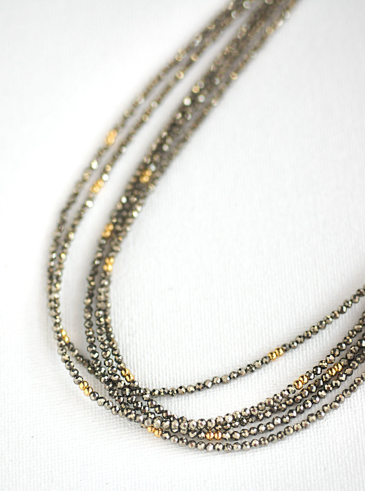 Wire Beaded Chain
