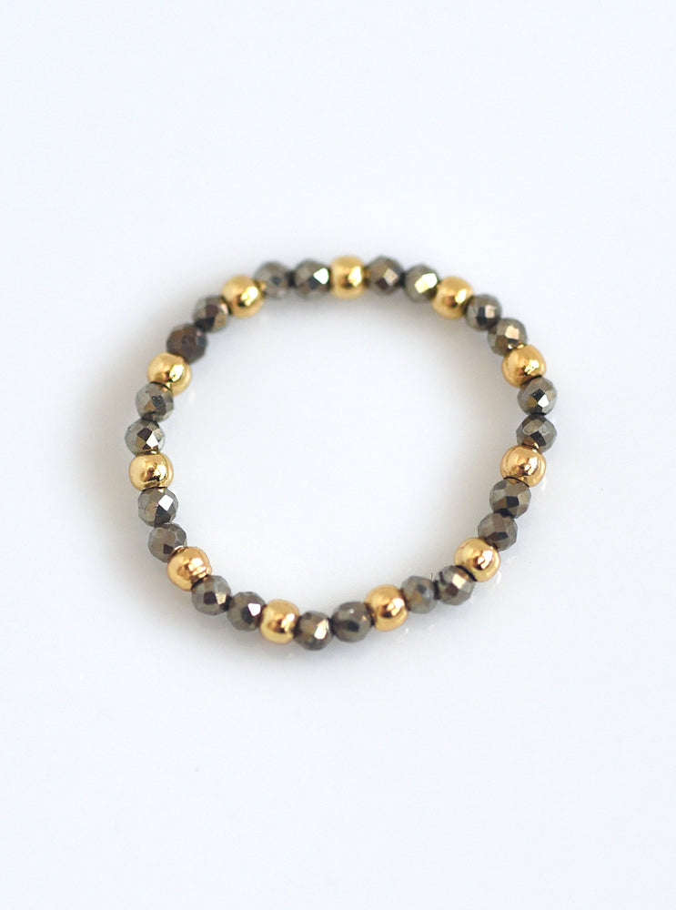 Stretchable Beaded Ring
