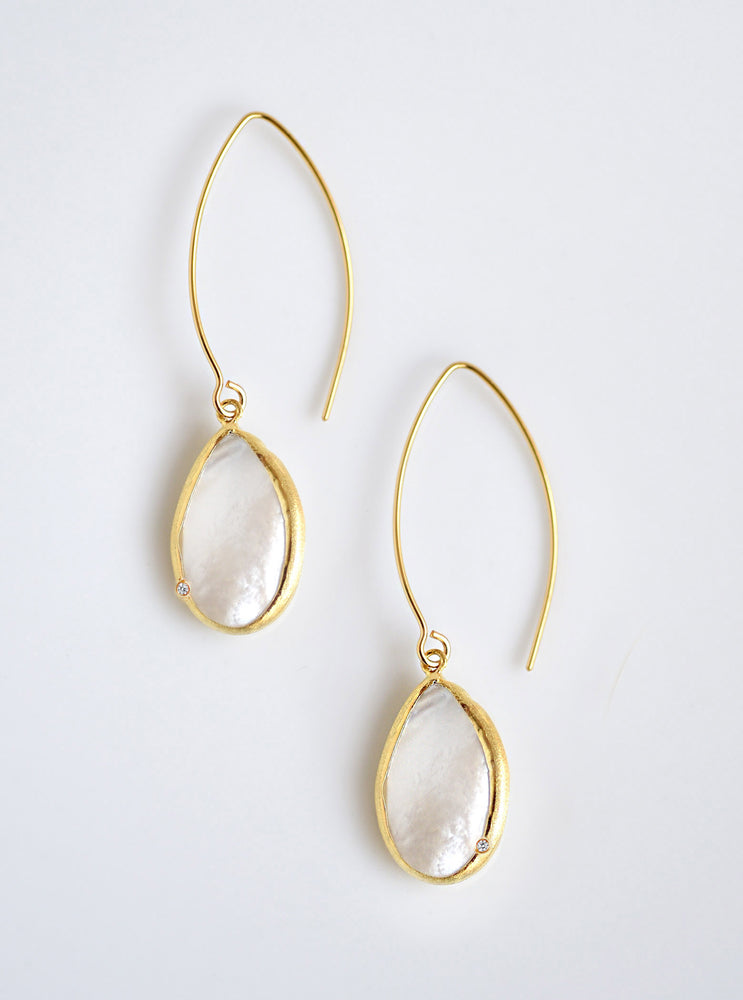 Shelly Teardrop Dangle Earrings