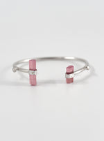 Tourmaline Double Side Bar Bracelet