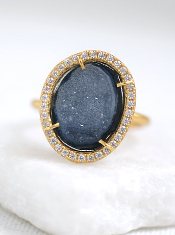 Related product : Geode with Sparkle Ring