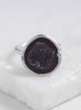 Diamond Geode Ring