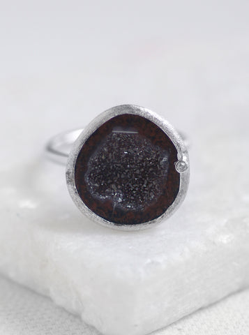 Related product : Diamond Geode Ring *
