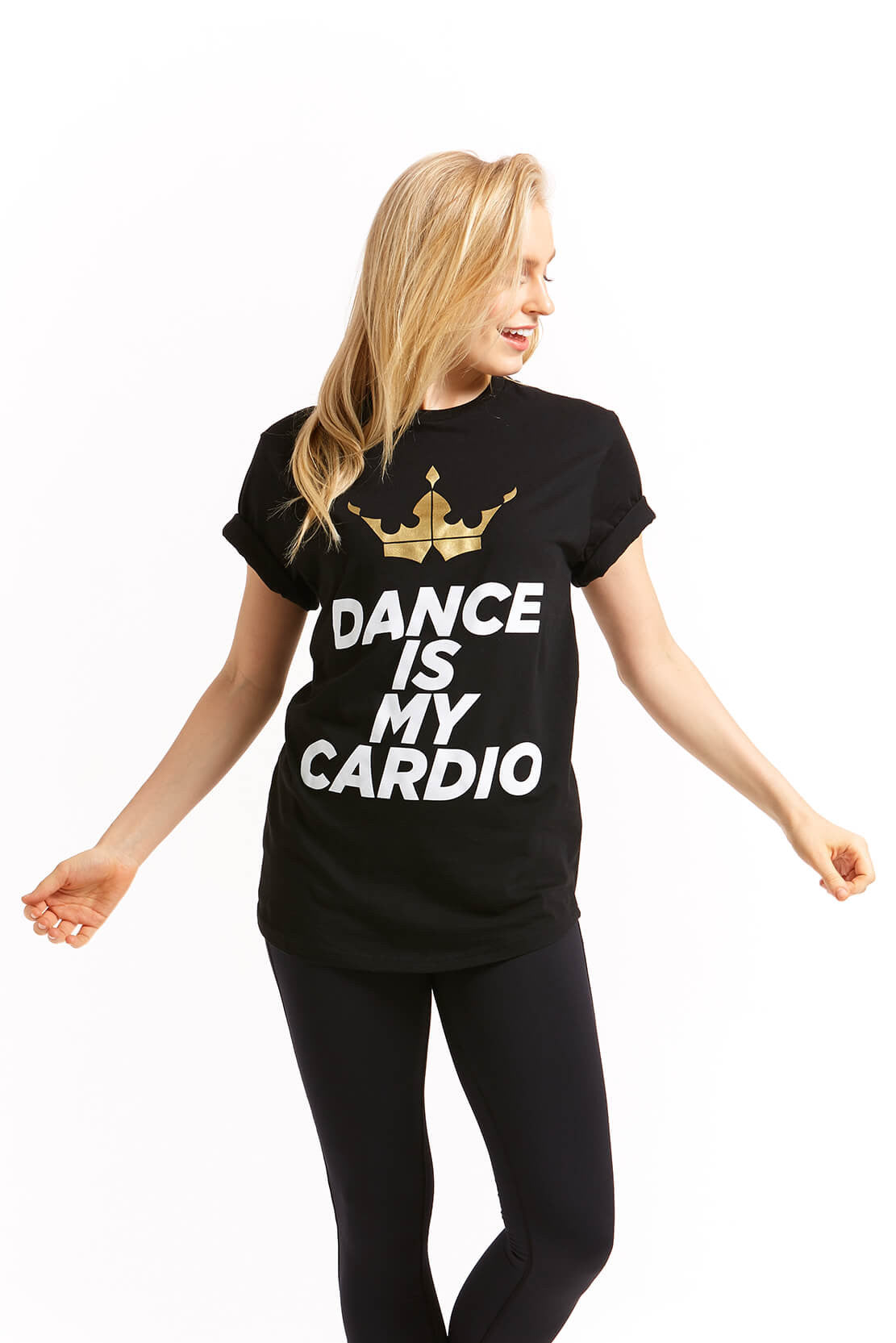 Dance Is My Cardio Black T-Shirt