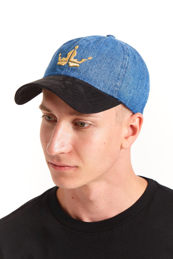 Crown Dark Denim Cap