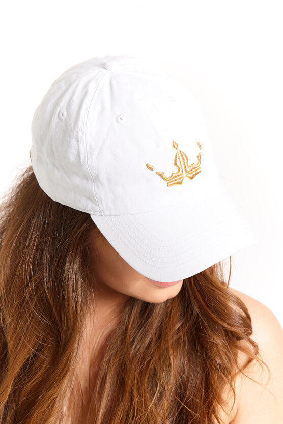 White Crown Cap