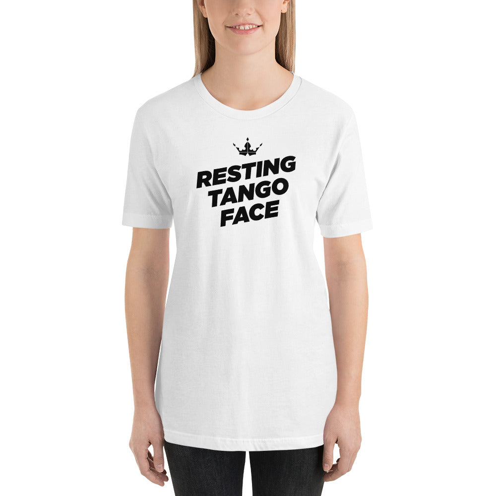 Missy - Resting Tango Face White Tee