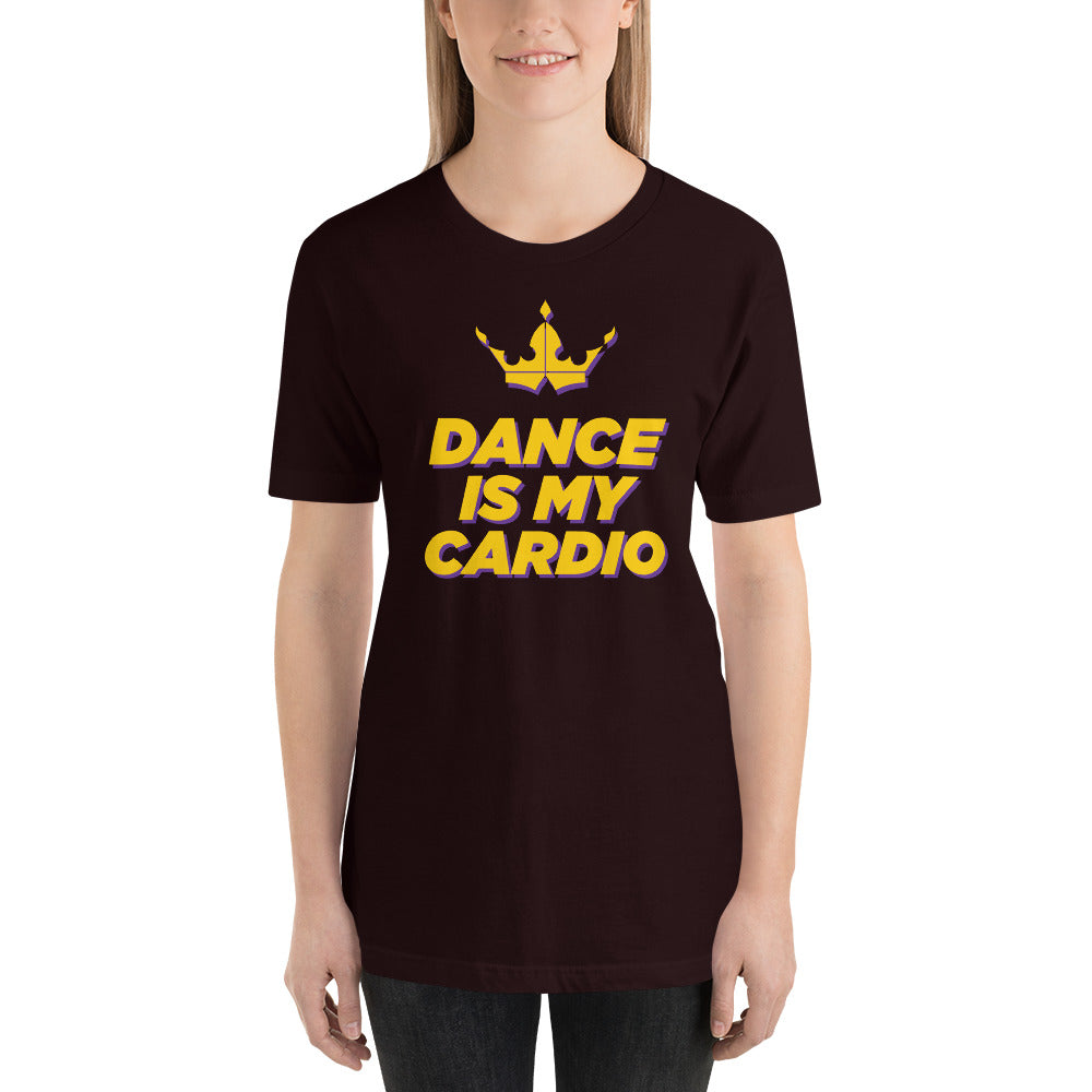 Dance Is My Cardio Black Tee - Unisex