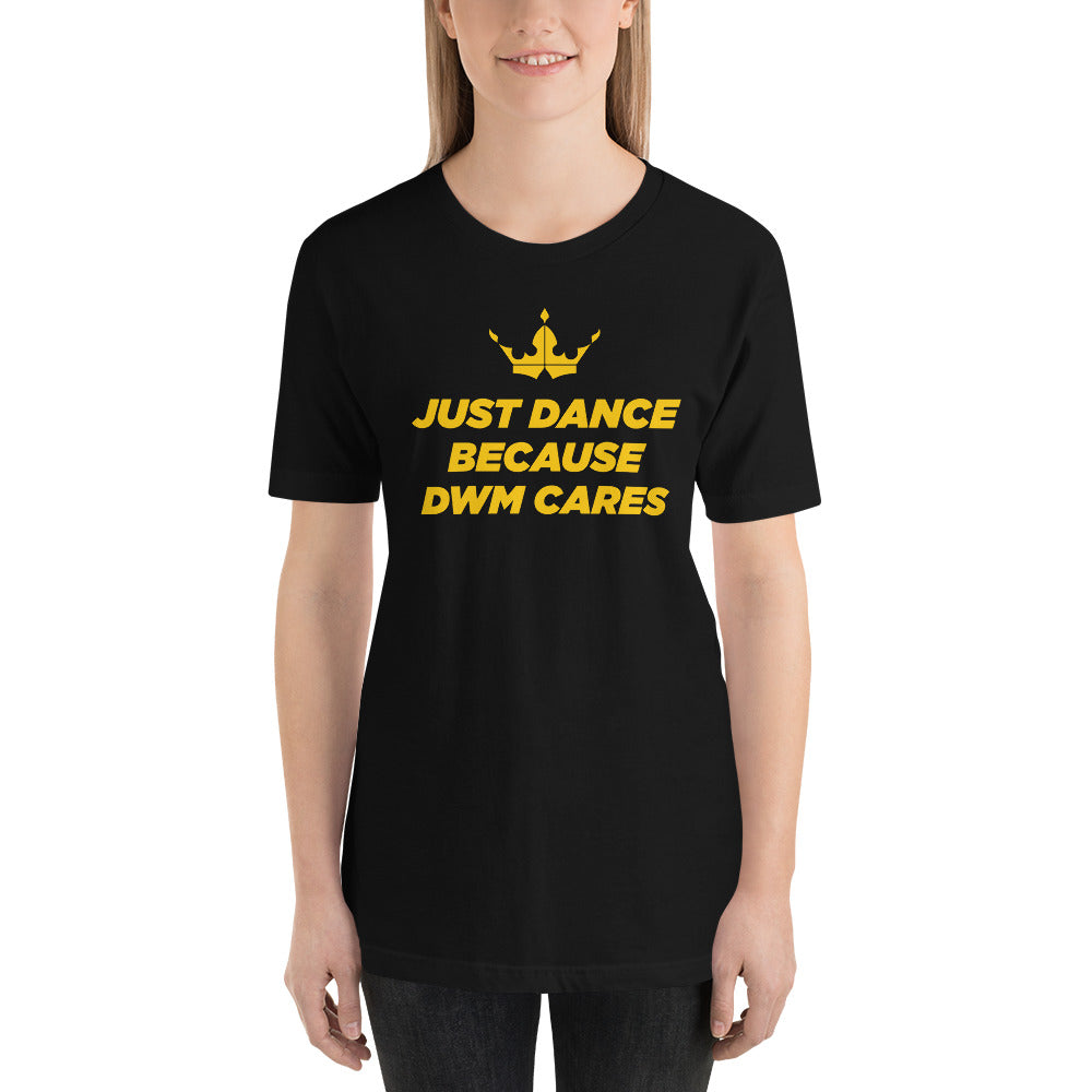 Lauren - DWM Cares Black Tee
