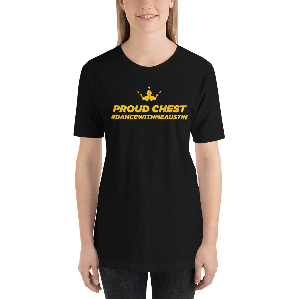 Melodie - Proud Chest Black Tee