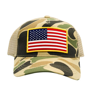 Camo USA Trucker hat