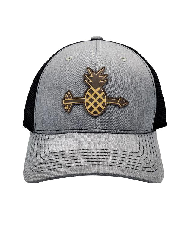 Grey Pineapple Hat