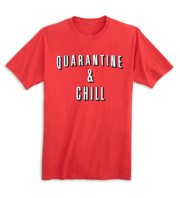 Quarantine & Chill Tee - Red