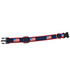 USA Dog Collar - Red