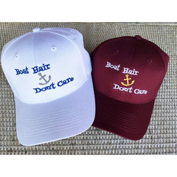Boat Hair-Don't Care! Structured Hat-Hat-Hallvaror-Gift_Ideas-Clothing-Jewelry-Accessories