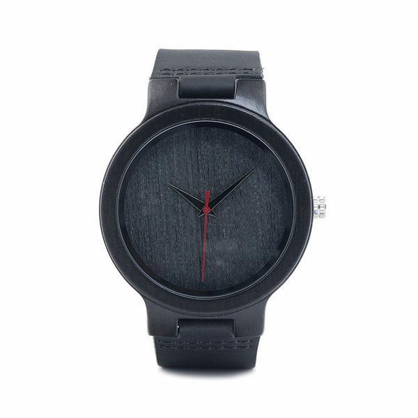 BOBO BIRD Ebony Wood Watch--Hallvaror-Gift_Ideas-Clothing-Jewelry-Accessories