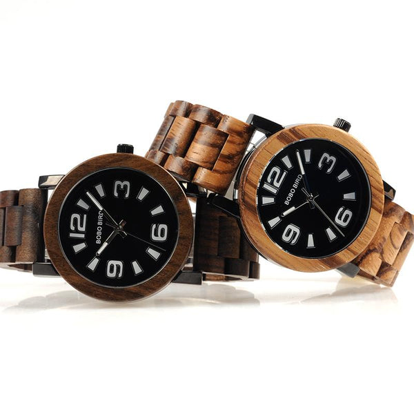 BOBO BIRD Large Number Wooden Watch-Watch-Hallvaror-Gift_Ideas-Clothing-Jewelry-Accessories