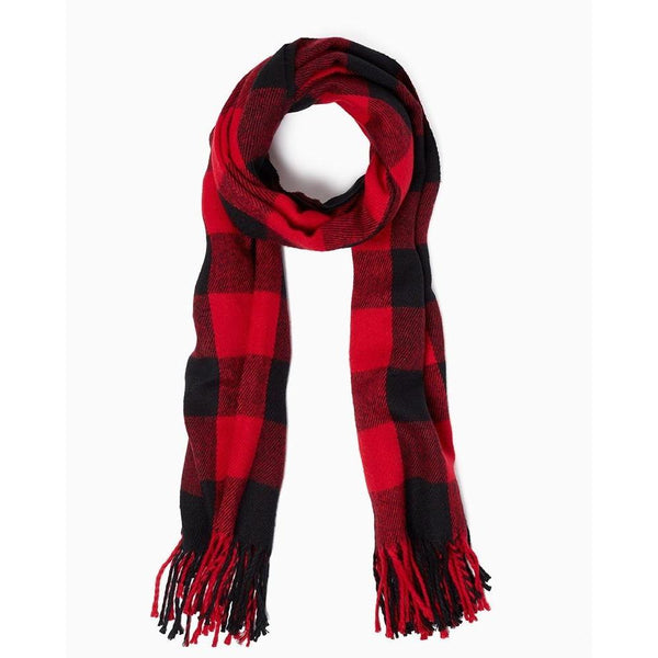 Buffalo Plaid Scarf-Scarf-Hallvaror-Gift_Ideas-Clothing-Jewelry-Accessories
