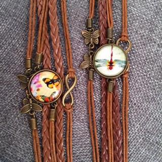 Dragonflies or Butterflies? How About Both!-Bracelet-Hallvaror-Gift_Ideas-Clothing-Jewelry-Accessories