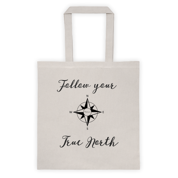 Follow Your True North Tote Bag-Tote-Hallvaror-Gift_Ideas-Clothing-Jewelry-Accessories