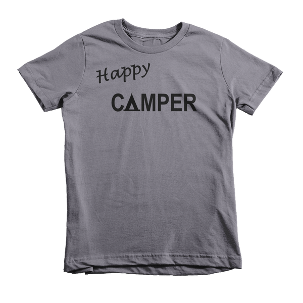 Happy Camper ~ Kids Edition-Slate-2yrs-Hallvaror-Gift_Ideas-Clothing-Jewelry-Accessories