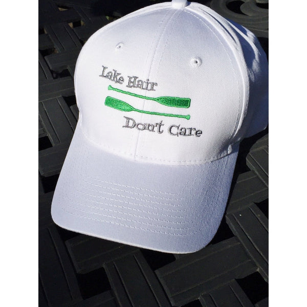 Lake Hair Don't Care Hat~ Bright Green Paddles Edition!-Hat-Hallvaror-Gift_Ideas-Clothing-Jewelry-Accessories