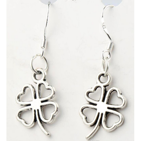 Lucky Clover Earrings ~ Wear Your Luck!-Earrings-Hallvaror-Gift_Ideas-Clothing-Jewelry-Accessories