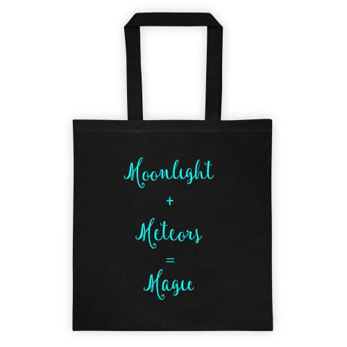Moonlight & Meteors - Magic Black Tote bag-Tote-Hallvaror-Gift_Ideas-Clothing-Jewelry-Accessories