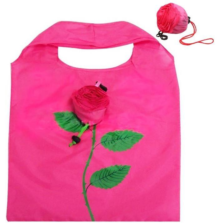 Rose Reusable Shopping Bags-Tote-Hallvaror-Gift_Ideas-Clothing-Jewelry-Accessories