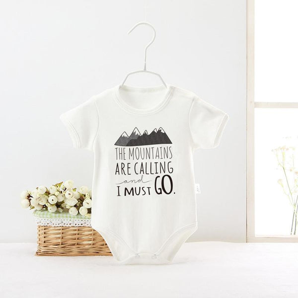 The Mountains Are Calling I Must Go Print Baby Onsie-Shirt-Hallvaror-Gift_Ideas-Clothing-Jewelry-Accessories