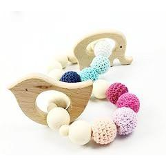 Wooden Teething Toy-Teething Ring-Hallvaror-Gift_Ideas-Clothing-Jewelry-Accessories