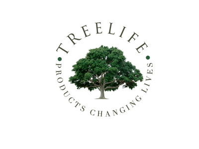 Tree Life Branded Products, Products Changing Lives Logo