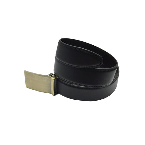 Men's 2-in-1 Reversible Belt Black and Brown with Buckle - Clothing Deals Now