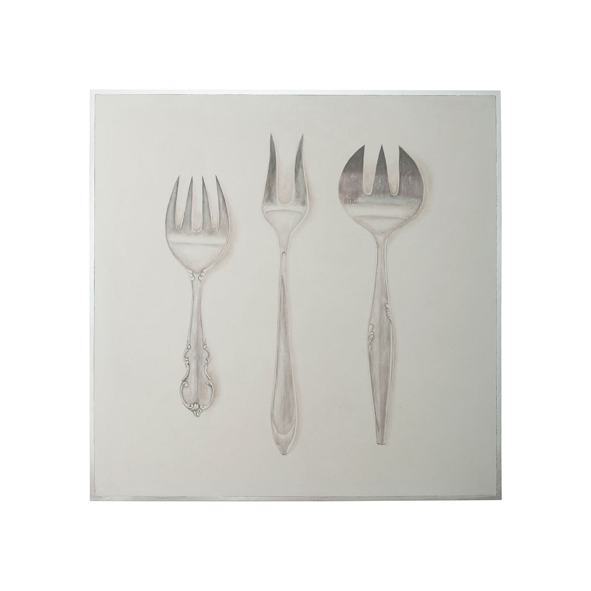 """Silver Service"" French Country Wall Art"