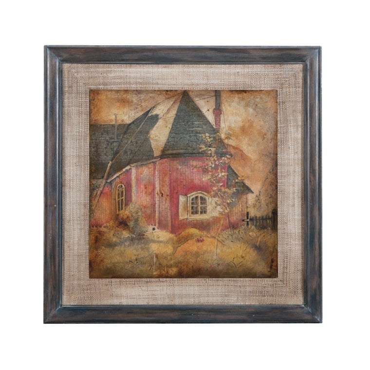 """Red Cottage"" Wall Art"