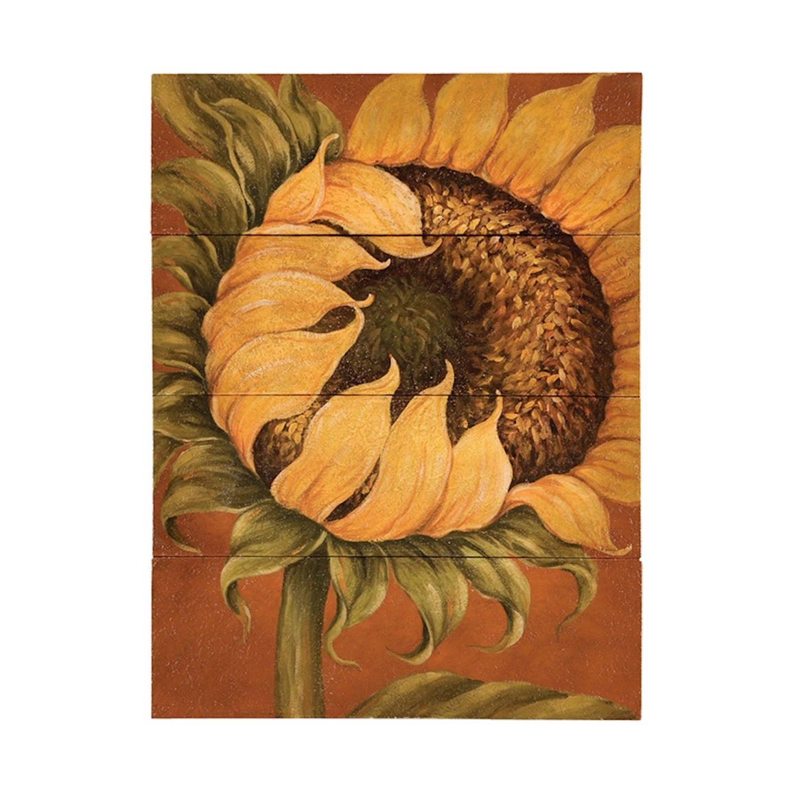 """Tuscan Sunflower"" 4-Piece Wall Art"