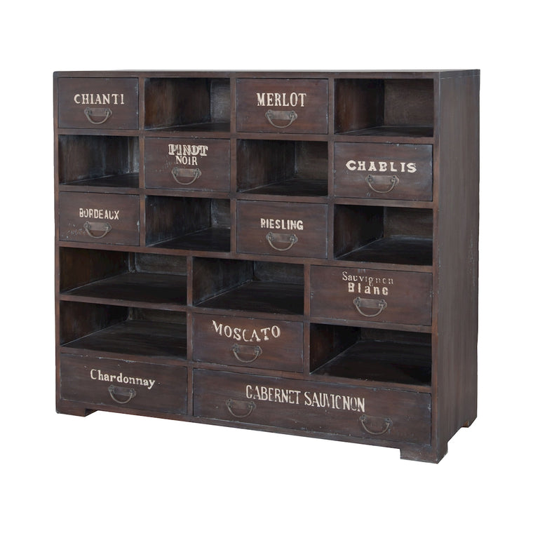 Farmhouse Wine Chest